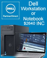 "Buy Dell T1700 Workstation or 17"" Touchscreen Notebook for $2640 INC"